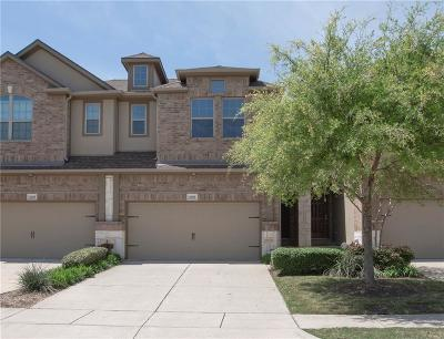 Plano Townhouse For Sale: 6509 Federal Hall Street