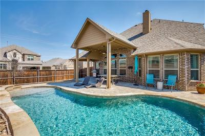 Little Elm Single Family Home For Sale: 500 Mist Flower Drive
