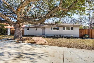 Farmers Branch Single Family Home For Sale: 3156 Valley View Lane
