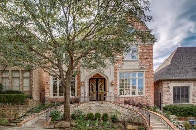 Dallas Single Family Home For Sale: 12223 Park Forest Drive
