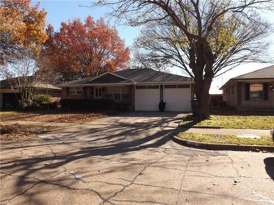 Garland Single Family Home For Sale: 1114 Vicksburg Drive