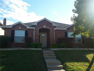 Allen Single Family Home For Sale: 1312 Red River Lane