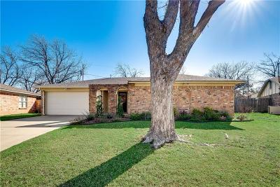 North Richland Hills Single Family Home Active Option Contract: 7552 Field Stone Drive