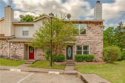 Garland Townhouse For Sale: 3925 Brandon Park Drive