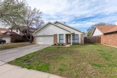 Grapevine Single Family Home For Sale: 1441 Thistlewood Lane