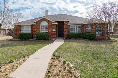 Sachse Single Family Home For Sale: 3716 Blossom Drive