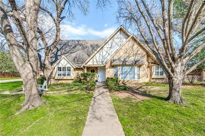 Colleyville Single Family Home Active Option Contract: 5408 Oak Hills Drive
