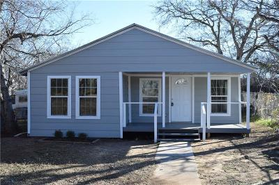 Mineral Wells TX Single Family Home For Sale: $82,000