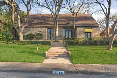 Dallas County Single Family Home For Sale: 9766 Maplehill Drive