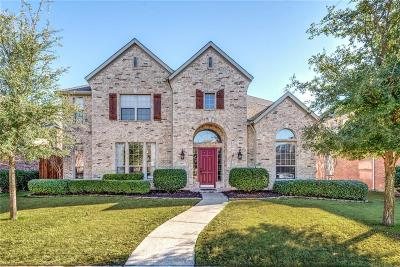 Frisco Single Family Home Active Option Contract: 2481 April Sound Lane