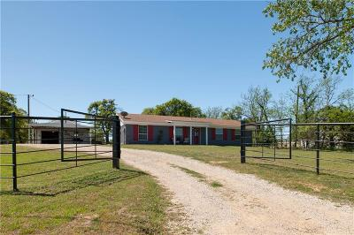 Springtown Single Family Home Active Option Contract: 8917 W Highway 199