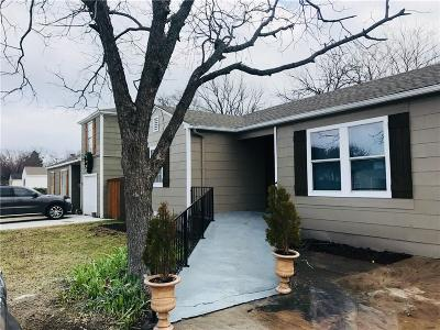 Dallas Single Family Home For Sale: 1718 Glenfield Avenue