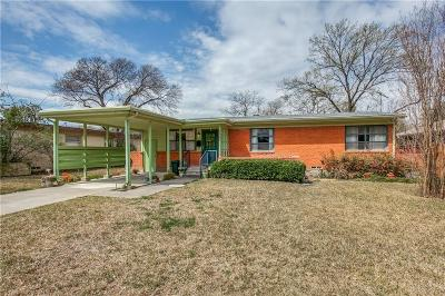 Dallas Single Family Home For Sale: 7215 Dalewood Lane