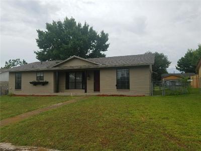 Dallas TX Single Family Home For Sale: $139,900
