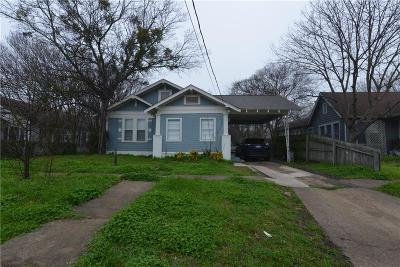 Ennis TX Single Family Home For Sale: $149,000