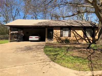 Cleburne Single Family Home For Sale: 816 W Smith Street