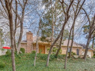 Dallas Single Family Home For Sale: 1630 Oak Knoll Street