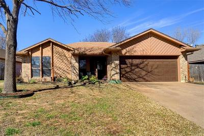 Denton Single Family Home Active Option Contract: 1417 Brandywine Circle