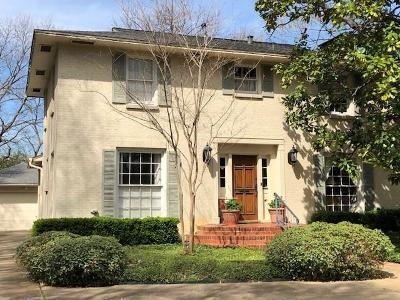 Dallas Single Family Home For Sale: 5329 W University Boulevard