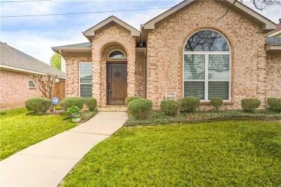 Lewisville Single Family Home Active Option Contract: 912 Brose Drive