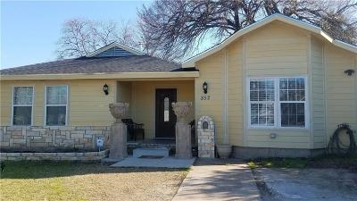 Garland Single Family Home For Sale: 852 Crockett Street