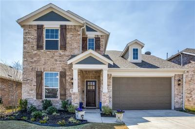 Aubrey Single Family Home For Sale: 1708 Ridge Creek Lane