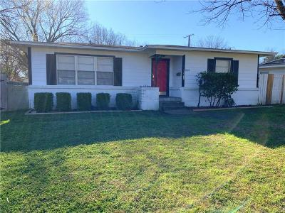 Garland Single Family Home For Sale: 1500 Hilltop Drive