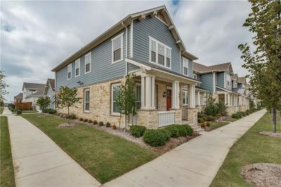 Dallas County, Denton County, Collin County, Cooke County, Grayson County, Jack County, Johnson County, Palo Pinto County, Parker County, Tarrant County, Wise County Townhouse For Sale: 8209 Canal Street