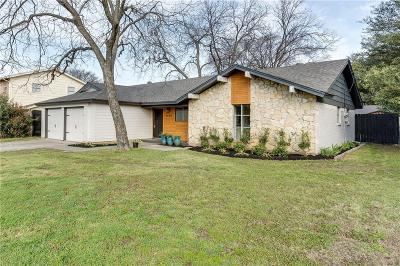 Dallas County, Denton County, Collin County, Cooke County, Grayson County, Jack County, Johnson County, Palo Pinto County, Parker County, Tarrant County, Wise County Single Family Home For Sale: 1905 Chattanooga Drive