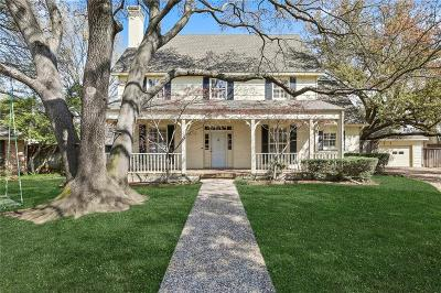 Dallas Single Family Home For Sale: 9079 Fairglen Drive