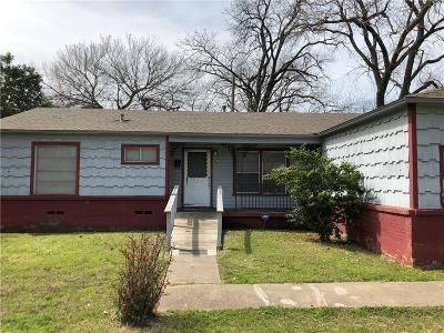 Single Family Home For Sale: 4733 Haas Drive
