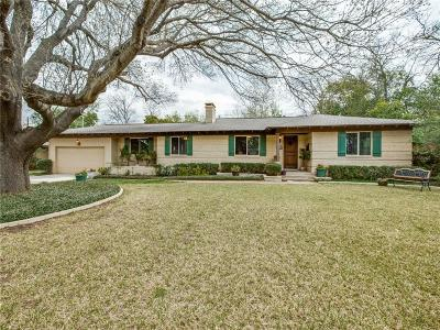 Dallas Single Family Home For Sale: 10238 Gooding Drive