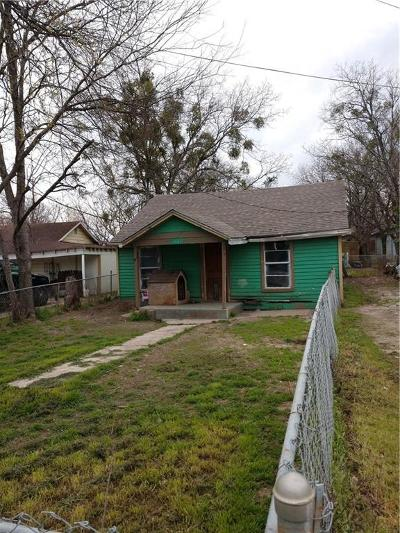 Waxahachie TX Single Family Home For Sale: $40,000