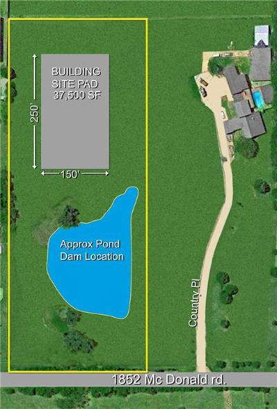 Rockwall Residential Lots & Land For Sale: Tbd McDonald Road