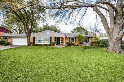 Dallas Single Family Home For Sale: 7805 Yamini Drive