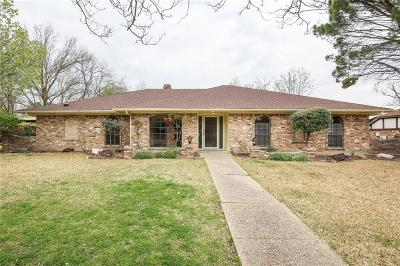Garland Single Family Home For Sale: 3809 Keele Drive