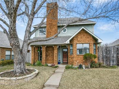 Allen Single Family Home For Sale: 625 Spring Valley Road