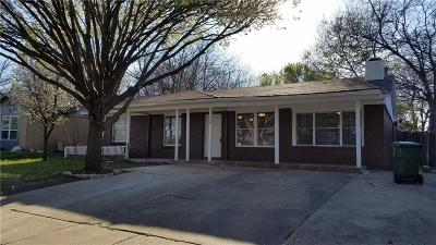Arlington Single Family Home For Sale: 1508 Browning Drive