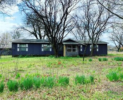 Waxahachie Single Family Home Active Option Contract: 3339 Hidalgo Road