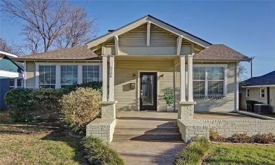 Fort Worth Single Family Home For Sale: 5104 Calmont Avenue