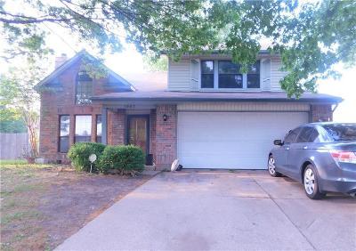 Arlington Single Family Home For Sale: 1507 Briarpath Lane