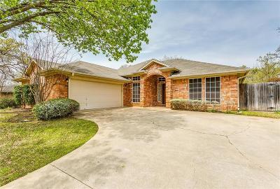 North Richland Hills Single Family Home Active Option Contract: 8601 Matt Drive