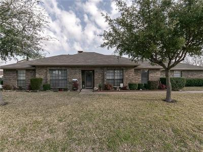 Rowlett Single Family Home For Sale: 3409 Colonial Drive