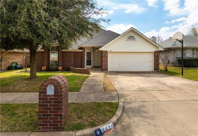 North Richland Hills Single Family Home For Sale: 8434 Odell Street