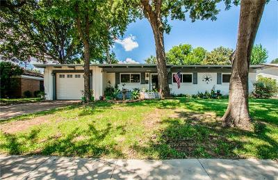 Irving Single Family Home Active Option Contract: 1909 Bunker Hill Drive