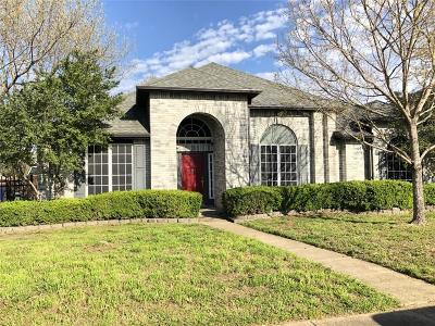 Rowlett Single Family Home For Sale: 4814 Clay Drive