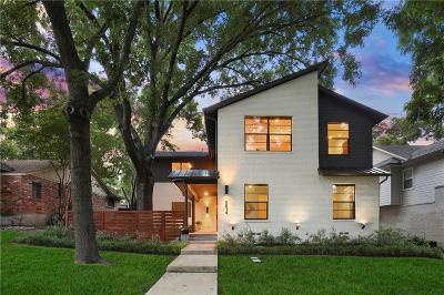 Dallas Single Family Home For Sale: 8614 Thunderbird Lane