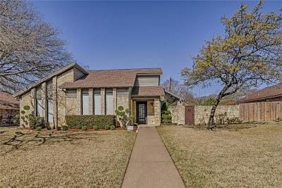Dallas County, Denton County, Collin County, Cooke County, Grayson County, Jack County, Johnson County, Palo Pinto County, Parker County, Tarrant County, Wise County Single Family Home For Sale: 5112 Kee Brook Drive