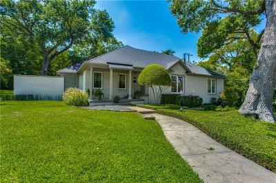Dallas Single Family Home For Sale: 1133 Lausanne Avenue