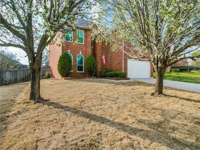 Lewisville Single Family Home Active Option Contract: 1712 Mystic Hollow Drive